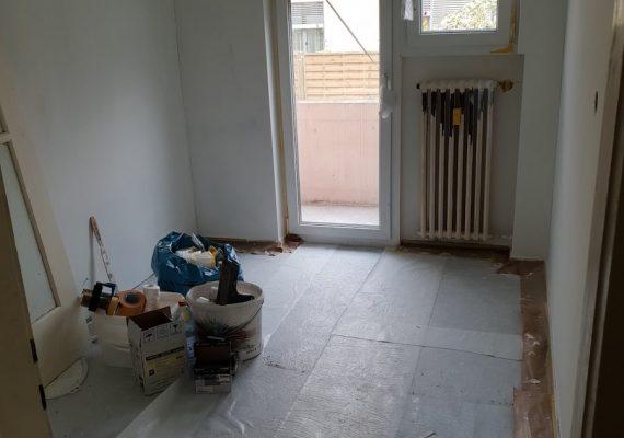 Die Küche vor dem Umbau