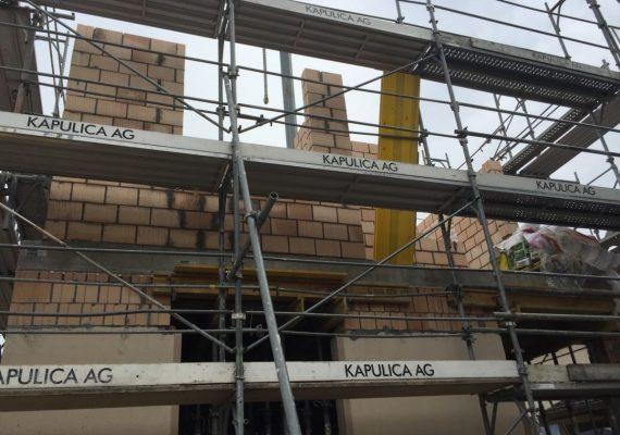 Der Aufbau eines zusätzlichen Stockwerks
