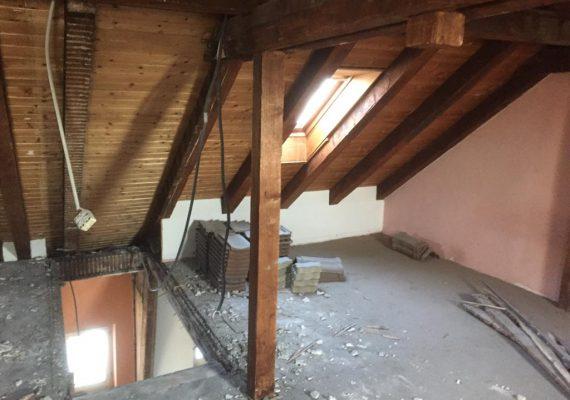 Der Dachboden vor dem Umbau